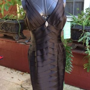 Jones Wear Dress Black Special Occasion NWT